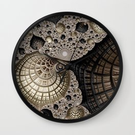 Beachcombing Wall Clock