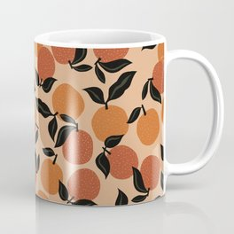 Seamless Citrus Pattern / Oranges Coffee Mug