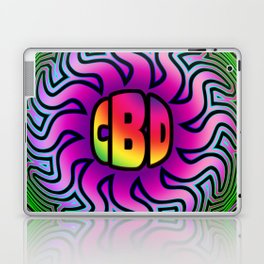 CBD Oil Sunshine Laptop & iPad Skin