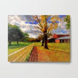Massachusetts - Autumn Colors Metal Print