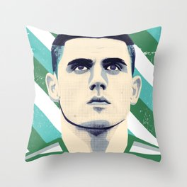 Tom Rogic, The Wily Wizard Throw Pillow
