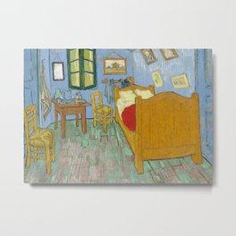 Bedroom in Arles Metal Print
