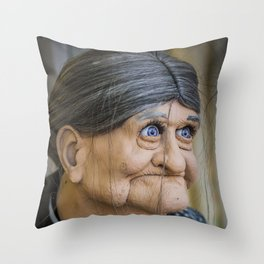 Ole Blue Eyes Is Back Throw Pillow