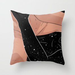 Shh, shh Throw Pillow