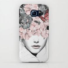 WOMAN WITH FLOWERS 10 Galaxy S8 Slim Case