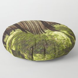 FOREST - Landscape and Nature Photography Floor Pillow