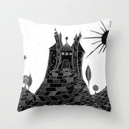 Bubu´s castle Throw Pillow