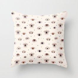 Symbolic Eye Throw Pillow