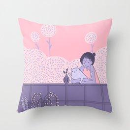 Your Florist's Tuesdays Throw Pillow