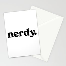 Nerdy Stationery Cards