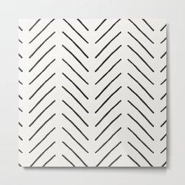 Arrow Tip Pattern Metal Print