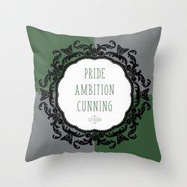 Slytherin Pride Throw Pillow