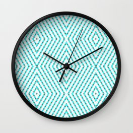 The Lazy Light Pattern Collection NO.135 Wall Clock