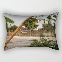 Abandoned Sports Rectangular Pillow