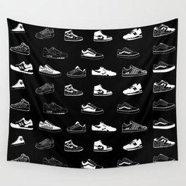 Black Sneaker Wandbehang