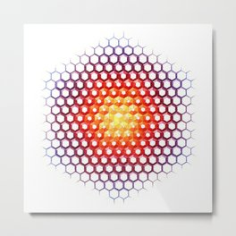 Solcryst Metal Print