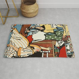 """Wee Sma' Hours"""" by Sadie Wendell Mitchell Rug"""