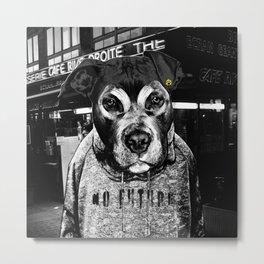 Dog's Life Metal Print