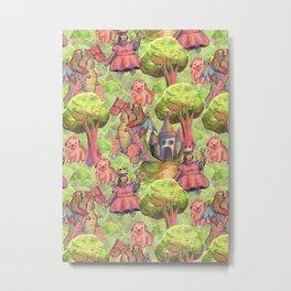 sloths kingdom Metal Print