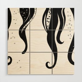Tentacles Wood Wall Art