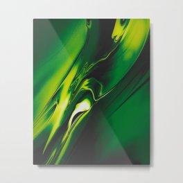 Green Fear Poison Metal Print