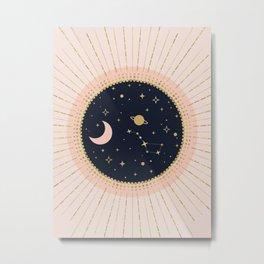 Love in Space Metal Print