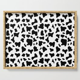 Cow pattern Serving Tray