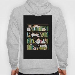 Library cats Hoody
