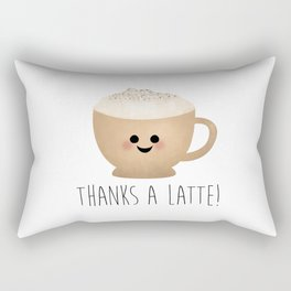 Thanks A Latte Rectangular Pillow