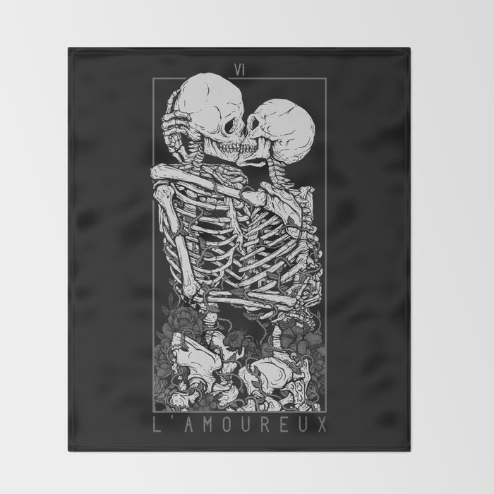 The Lovers Throw Blanket