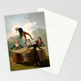 "Francisco Goya ""The Straw Manikin - The puppet"" Stationery Cards"