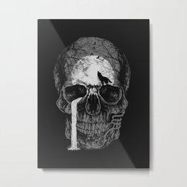 Natural soul skull Metal Print