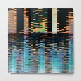 city on water. 2019 Metal Print
