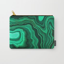 Emerald Marble Carry-All Pouch