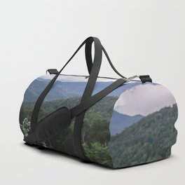 Smoky Mountain Wildflower Adventure - Nature Photography Duffle Bag