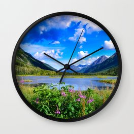 God's_Country - IV, Alaska Wall Clock