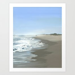 Nausett Beach Art Print
