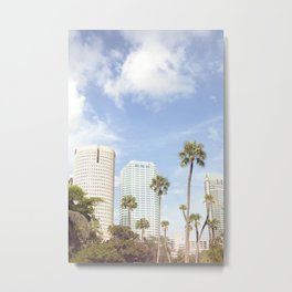 Florida Vibes  |  Travel the World Metal Print