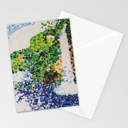 Waterfall At a Distance Stationery Cards