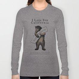 i love you california Langarmshirt