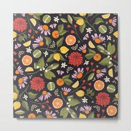 Citrus Grove Metal Print