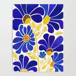 The Happiest Flowers Poster