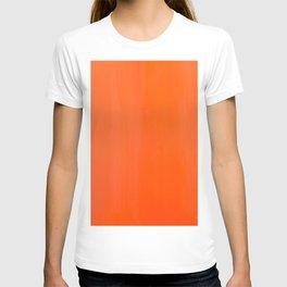 Orange/Coral Ombre Color #decor #society6 #buyart T-shirt