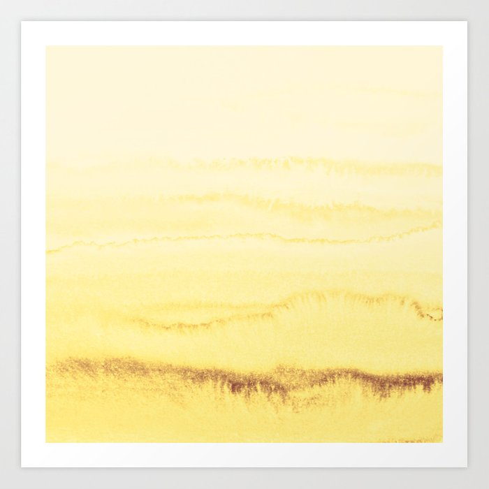 WITHIN THE TIDES - SUNNY YELLOW Kunstdrucke