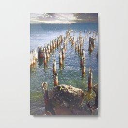 Remaining pier Metal Print