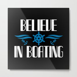 Boating - Fun On The Water - 04 Metal Print