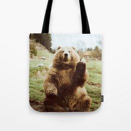 Hi Bear Tote Bag