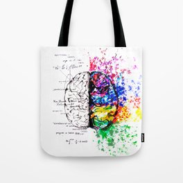 Conjoined Dichotomy Tote Bag