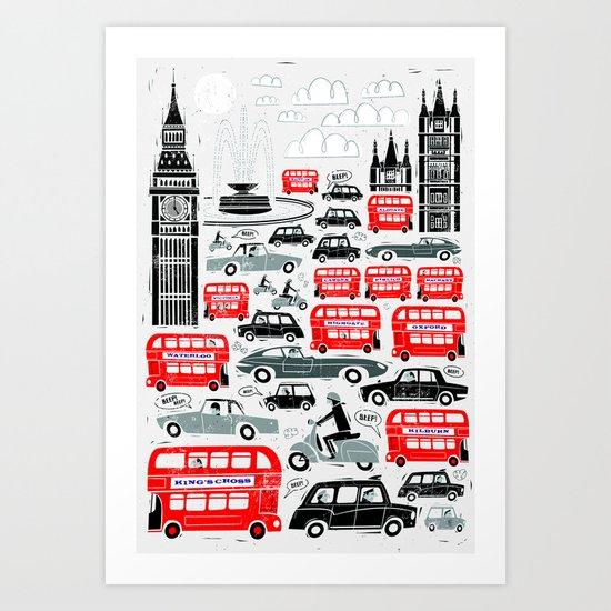 London Traffic by peterdonnelly