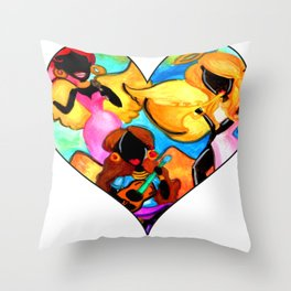 Angel Band Throw Pillow